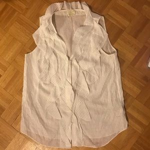 Kate spade silk/cotton top size 10
